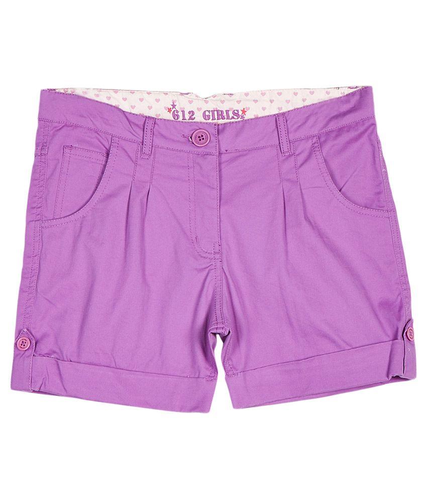 612 League Purple Shorts