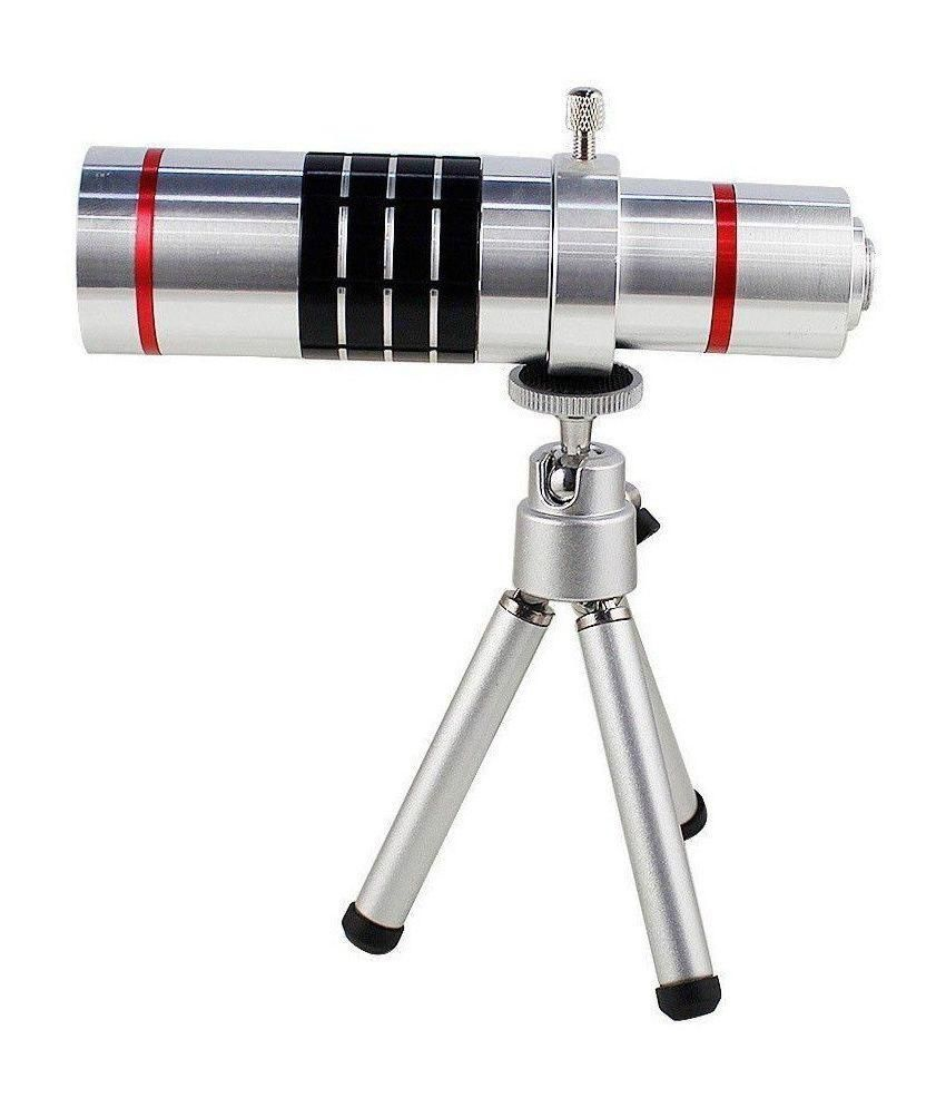 Mobilegear 18X Optical Zoom Telescope Mobile Camera Lens Kit with Back Cover & Tripod for Apple iPhone 6 Plus