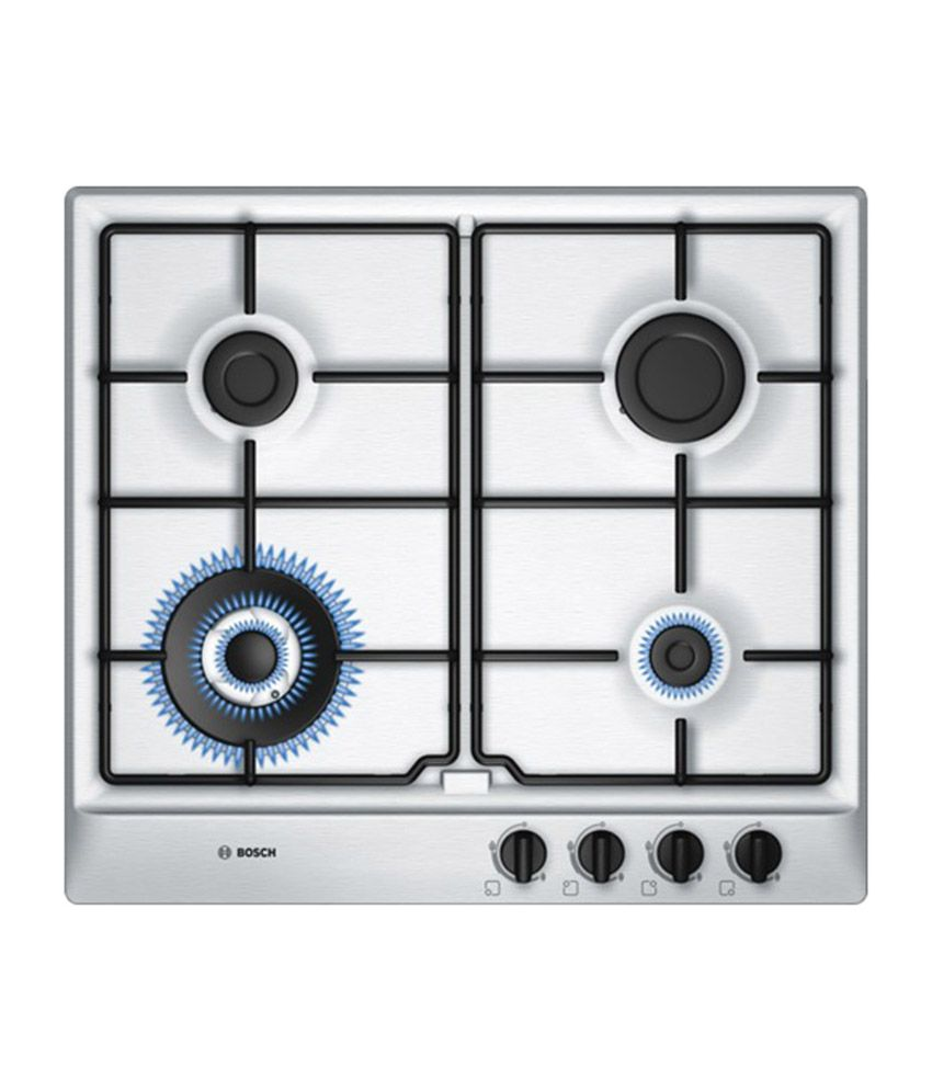 Bosch PCH615B8TI Stainless Steel Gas Hob - 60 cm Price in India ...