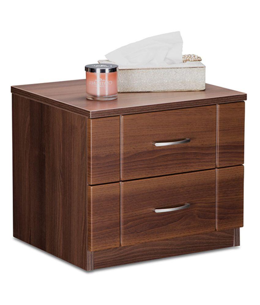 Debono Checkers Bed Side Table