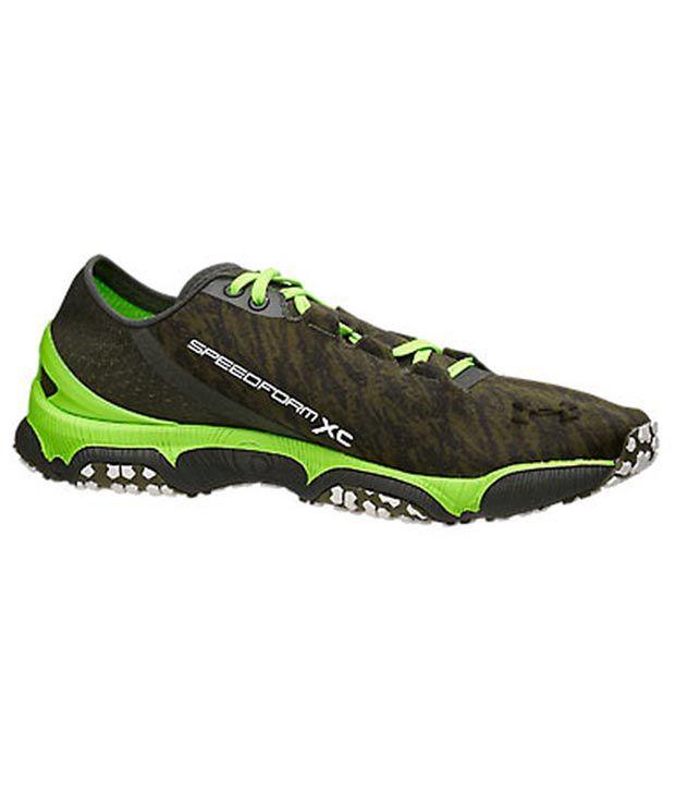 Under Armour Under Armour Green Speedform Xc Mens Shoes Medium Width (d)