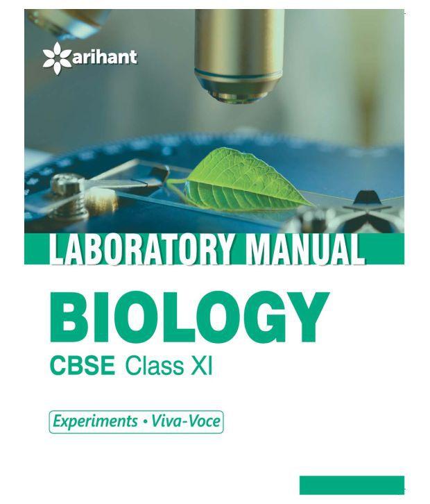 cbse laboratory manual biology class 11th experiments viva voce rh snapdeal com Bio 1 Lab Manual College Biology Laboratory Manual for Human