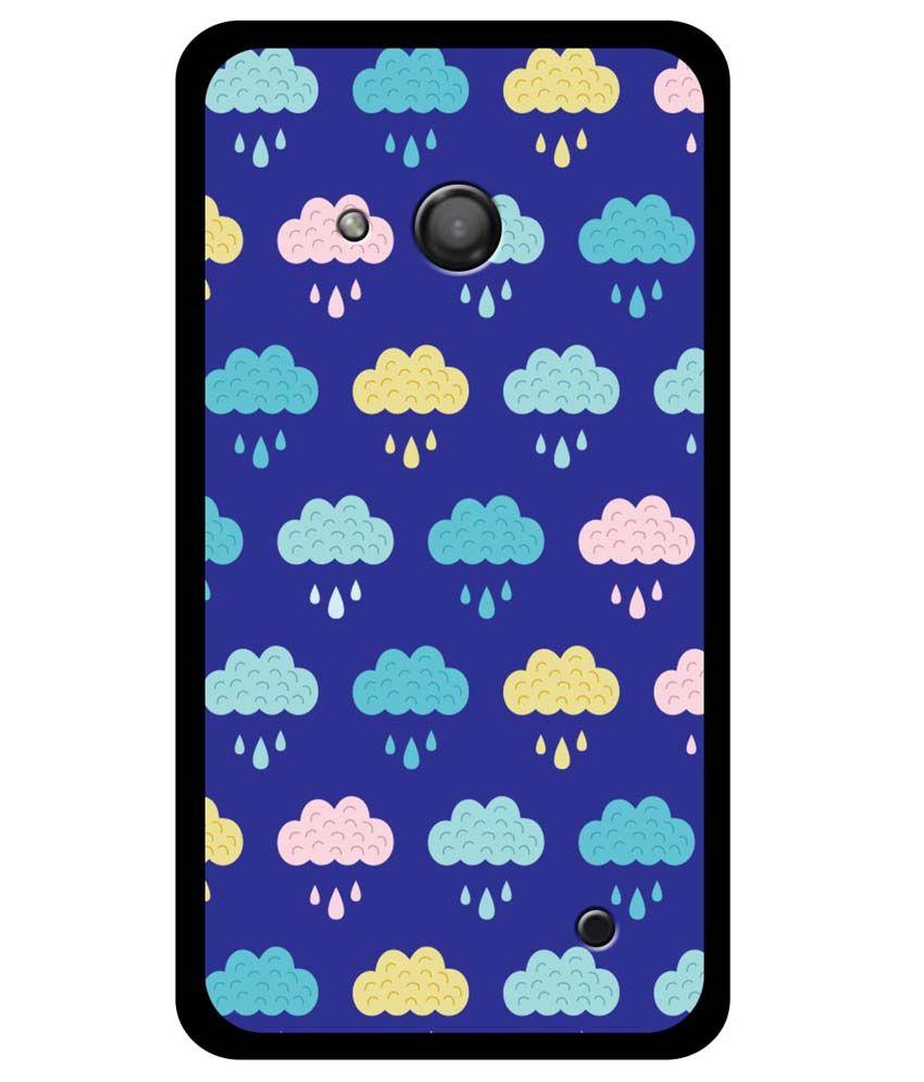 Zapcase-Back-Cover-For-Microsoft-Lumia-550-Multicolour