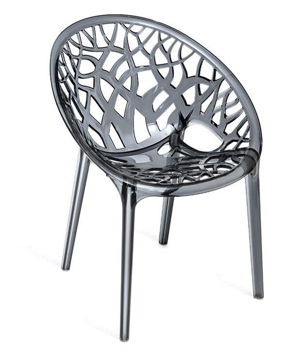 Nilkamal Crystal Plastic Chair - Buy Nilkamal Crystal ...