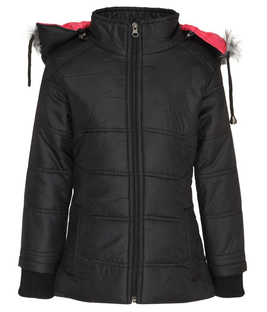 Fort Collins Black With Hood Jacket