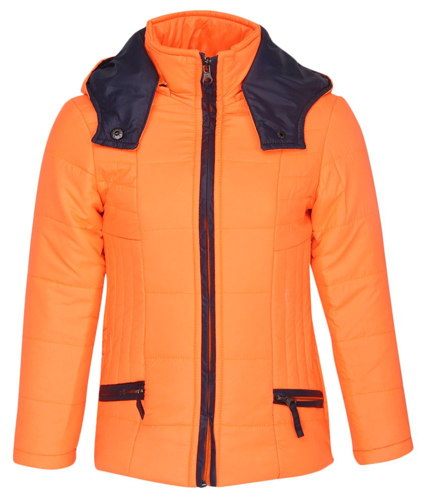 Fort Collins Orange With Hooded Jacket