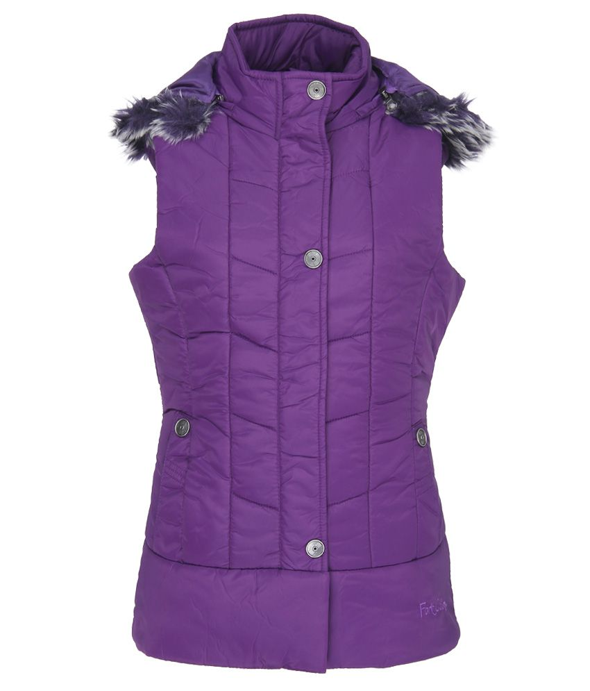 Fort Collins Purple With Hood Jacket