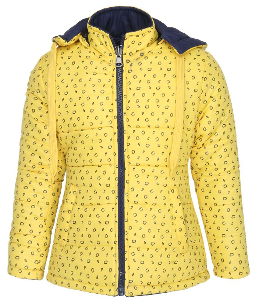 Fort Collins Yellow With Hooded Jacket