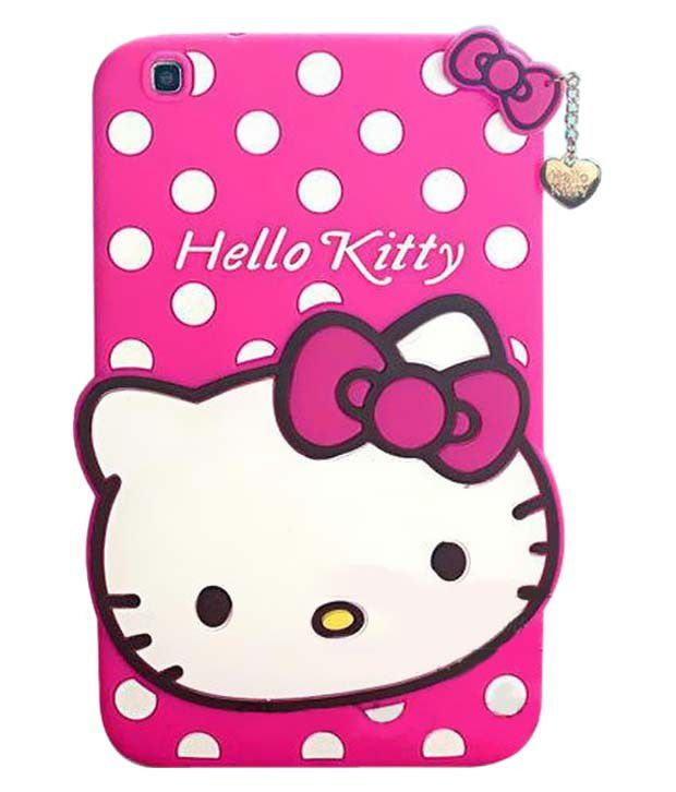 go crazzy cute hello kitty silicone with pendant back cover samsung rh snapdeal com