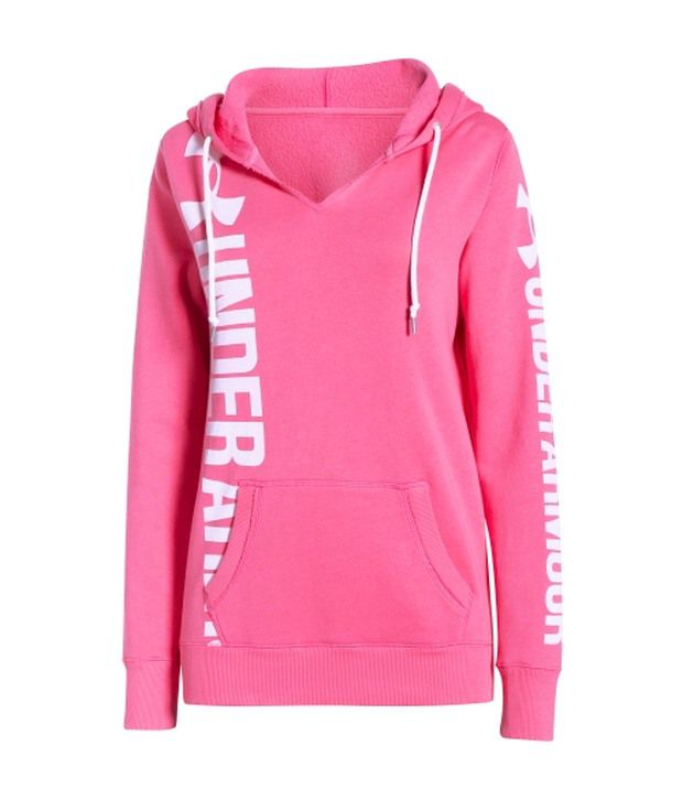 Under Armour Pink Women's Favourite Fleece Hoodie