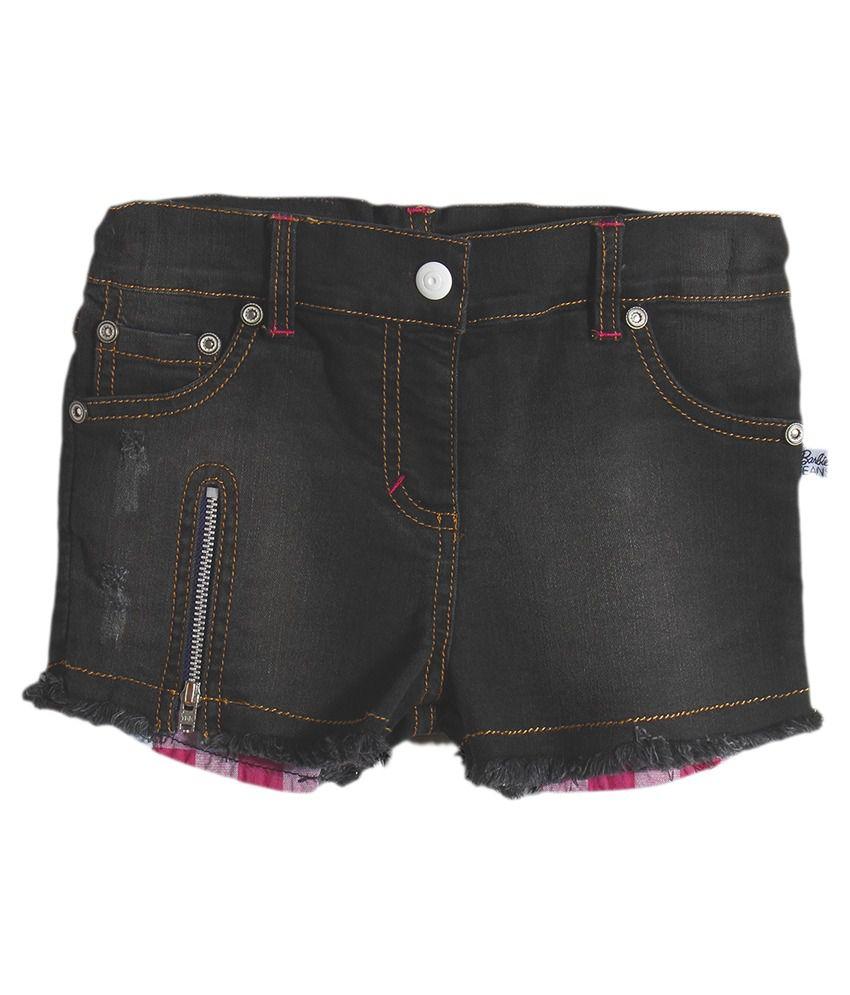 Barbie Black Shorts
