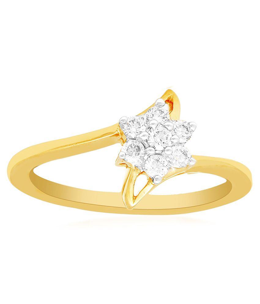 Nakshatra 18kt Gold Ring For Women