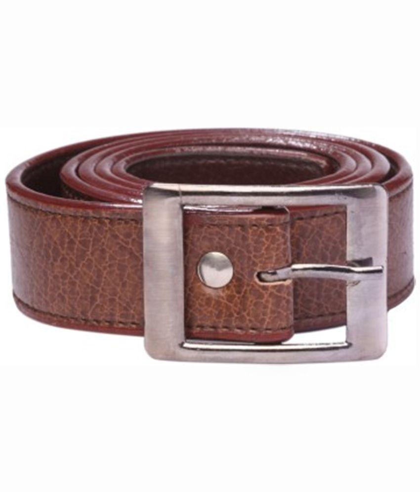 Daller Tan Casual Pin Buckle Belt for Men