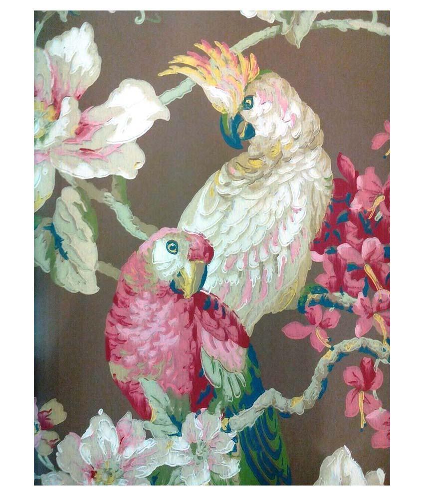 Life N Colors Designer Wallpaper 57 Sq Ft Per Roll Multicolor