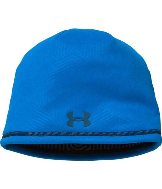 Under Armour Under Armour Men's Coldgear Infrared Elements Storm 2.0 Beanie Stealth Grey/blue Jet