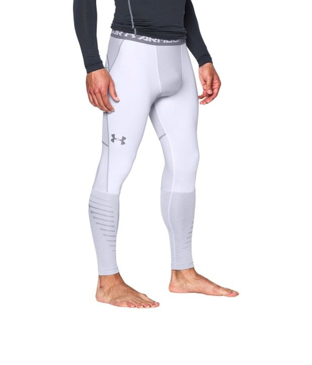 Under Armour Under Armour Men's Coldgear Infrared Armour Compression Leggings Black/steel