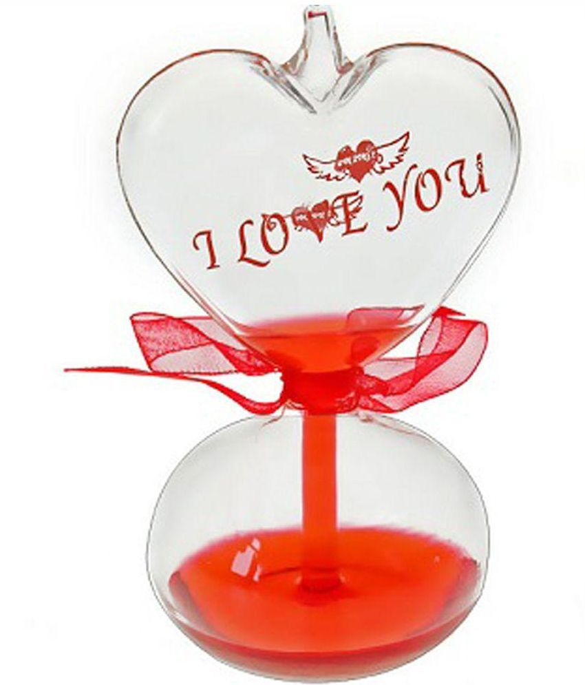 Gifts Online Red Glass Love Meter Valentine Special Gift Set Buy