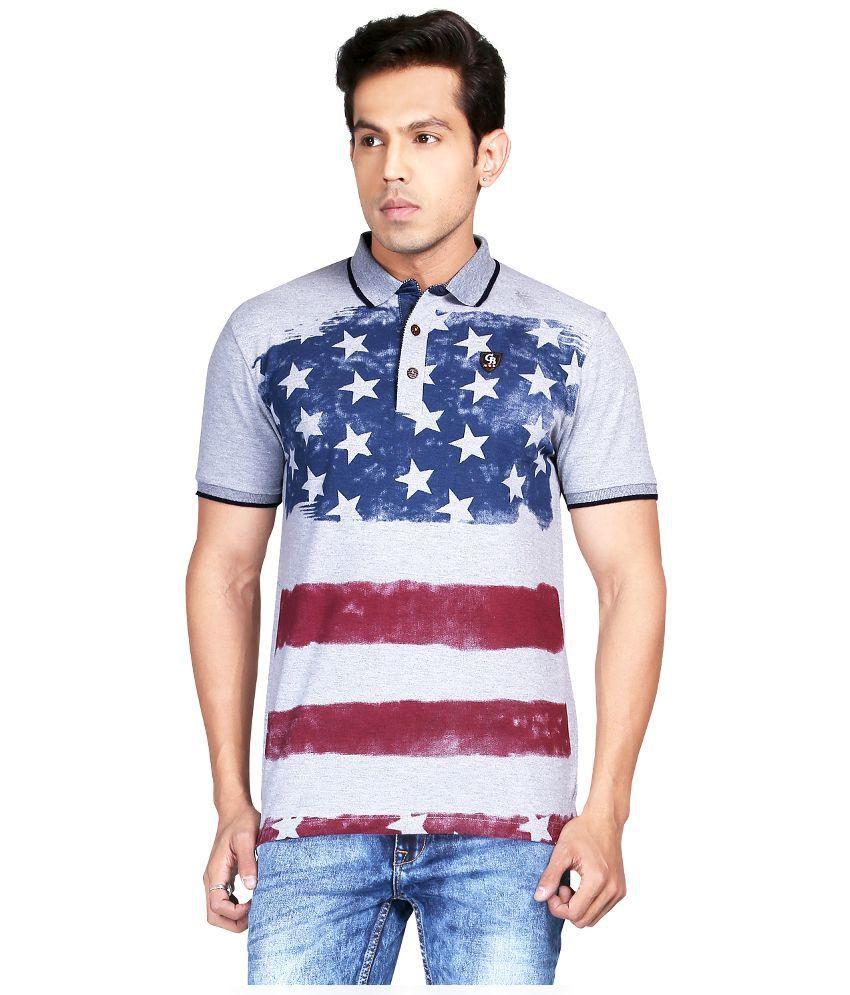 Gritstones Multicolor Cotton T-Shirt