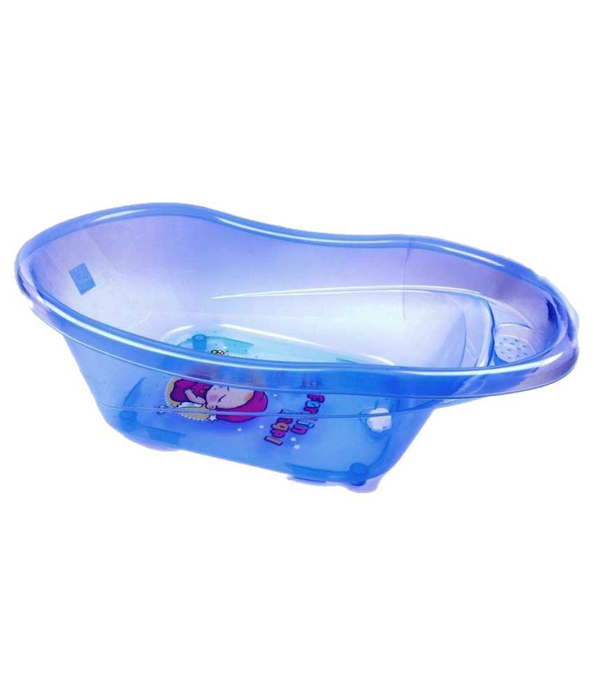 Farlin Baby Angel Bath tub-Blue: Buy Farlin Baby Angel Bath tub-Blue ...