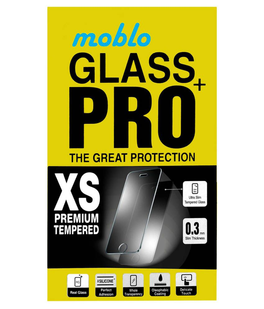 Micromax A77 Tempered Glass Screen Guard by Moblo