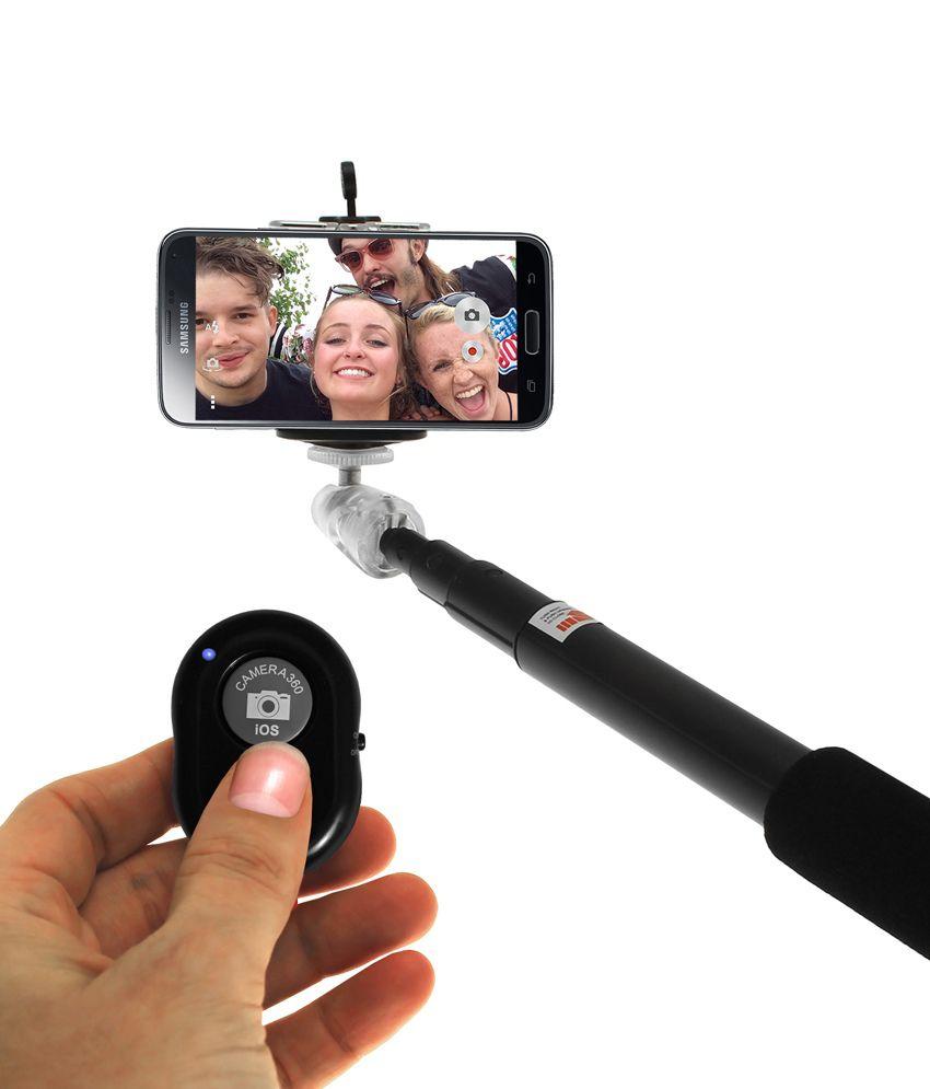 Mobssories Bluetooth Selfie Stick For Microsoft Lumia 540