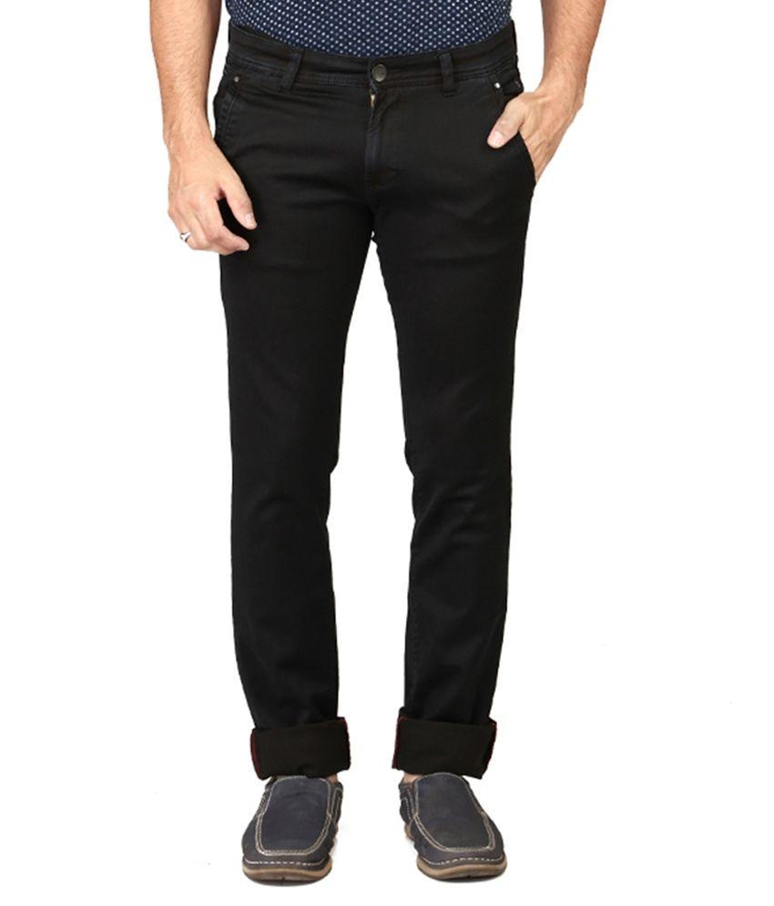 Irony Black Skinny Fit Jeans