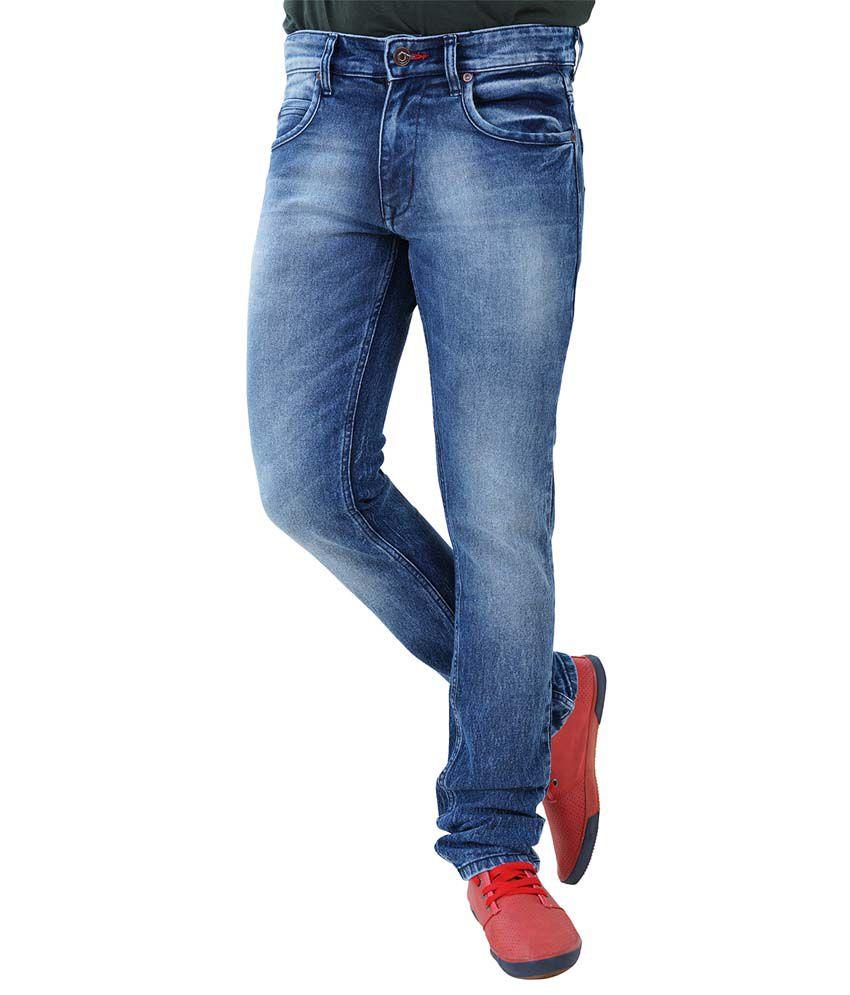 Thames Blue Skinny Fit Jeans