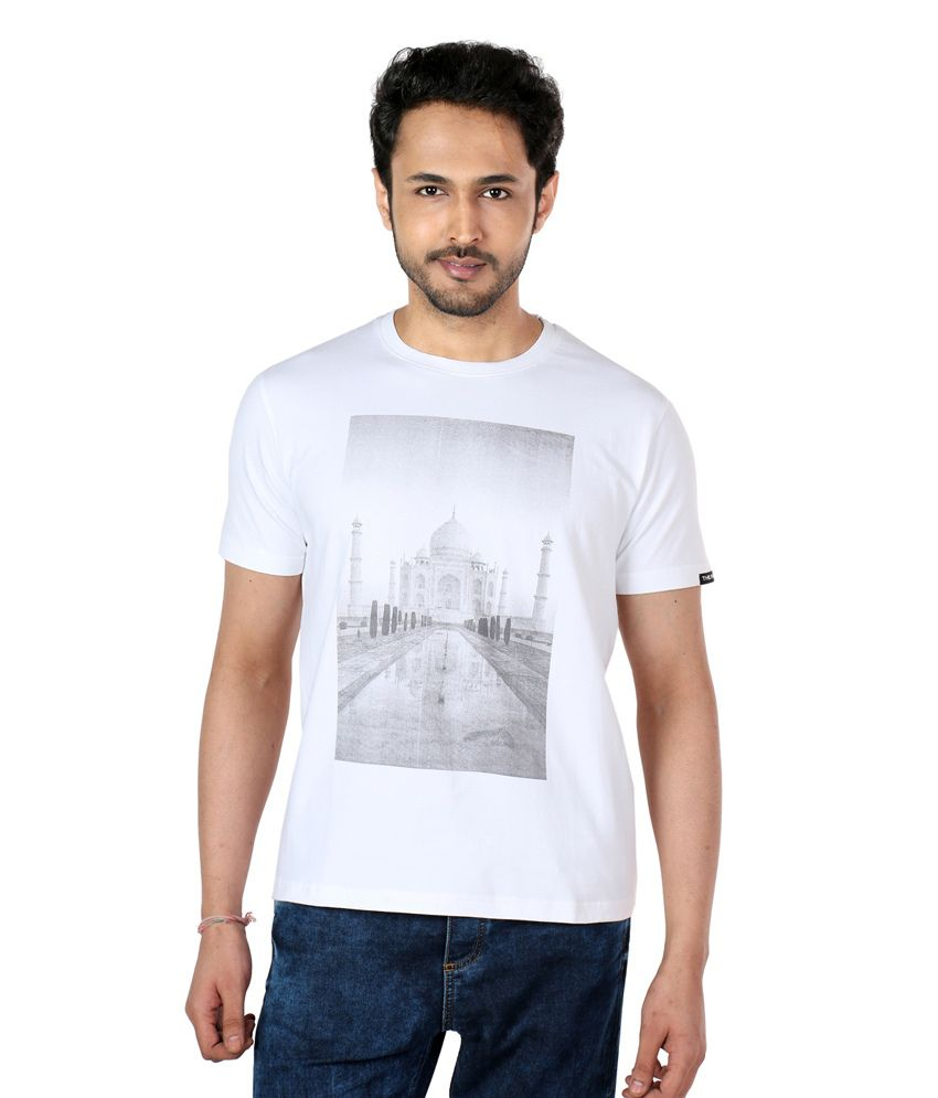The Indian White Cotton T-shirt
