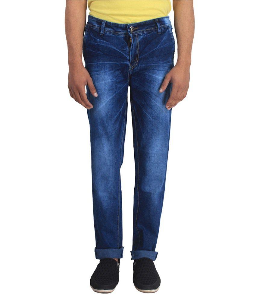 Dolon Blue Slim Fit Jeans
