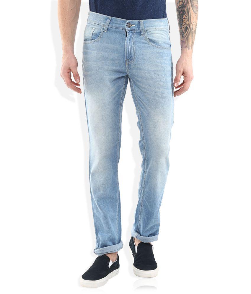 Newport Blue Slim Fit Jeans