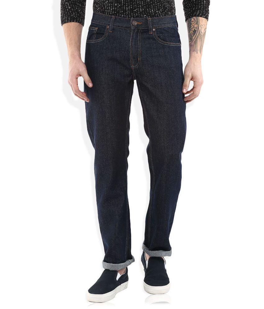 Newport Navy Slim Fit Jeans