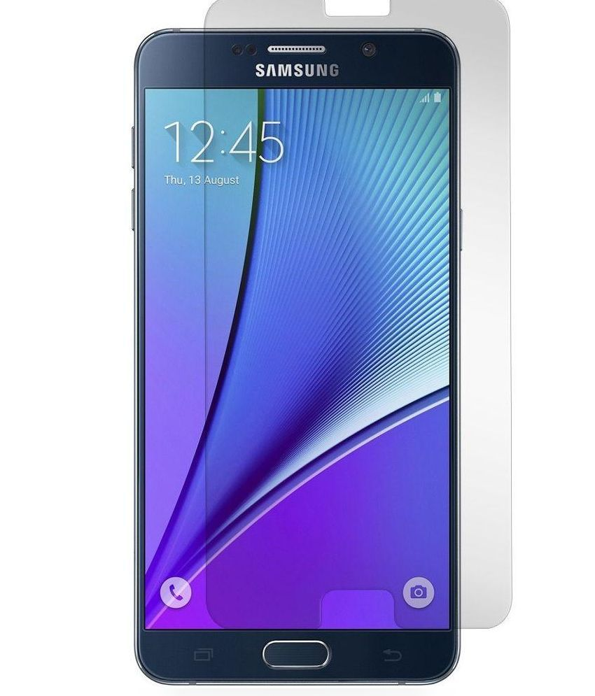 Samsung Galaxy Note 5 Tempered Glass Screen Guard by Royalware