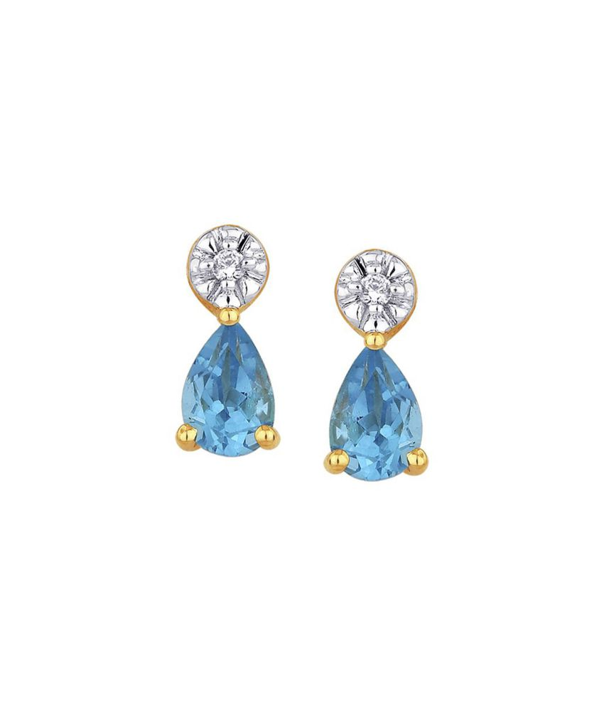 Shuddhi 18kt Gold Diamond Studs