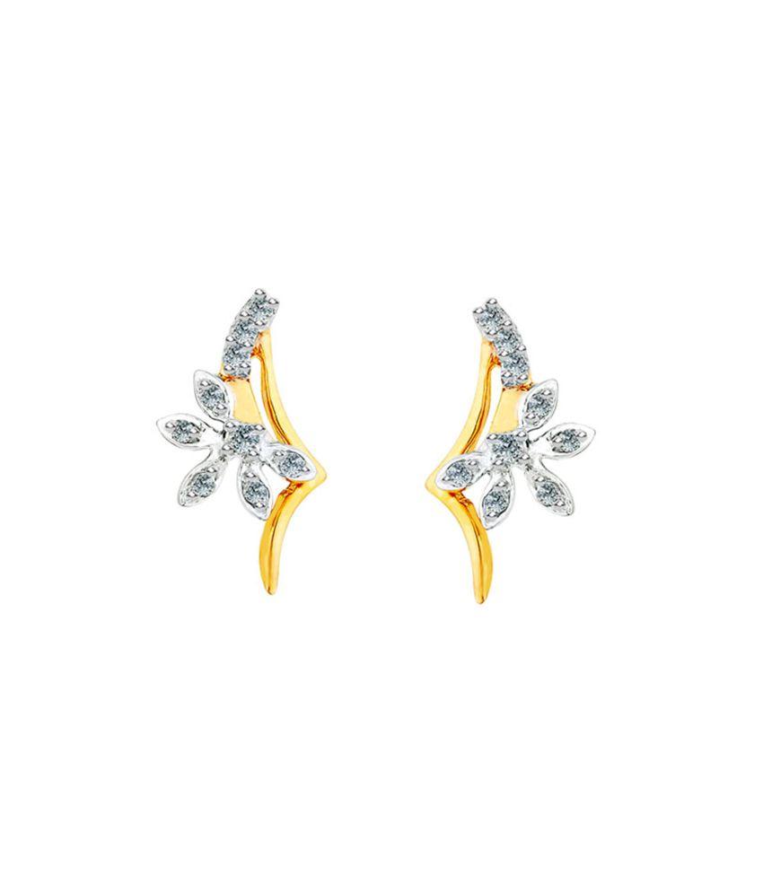 Shuddhi 18kt Gold Diamond Studs