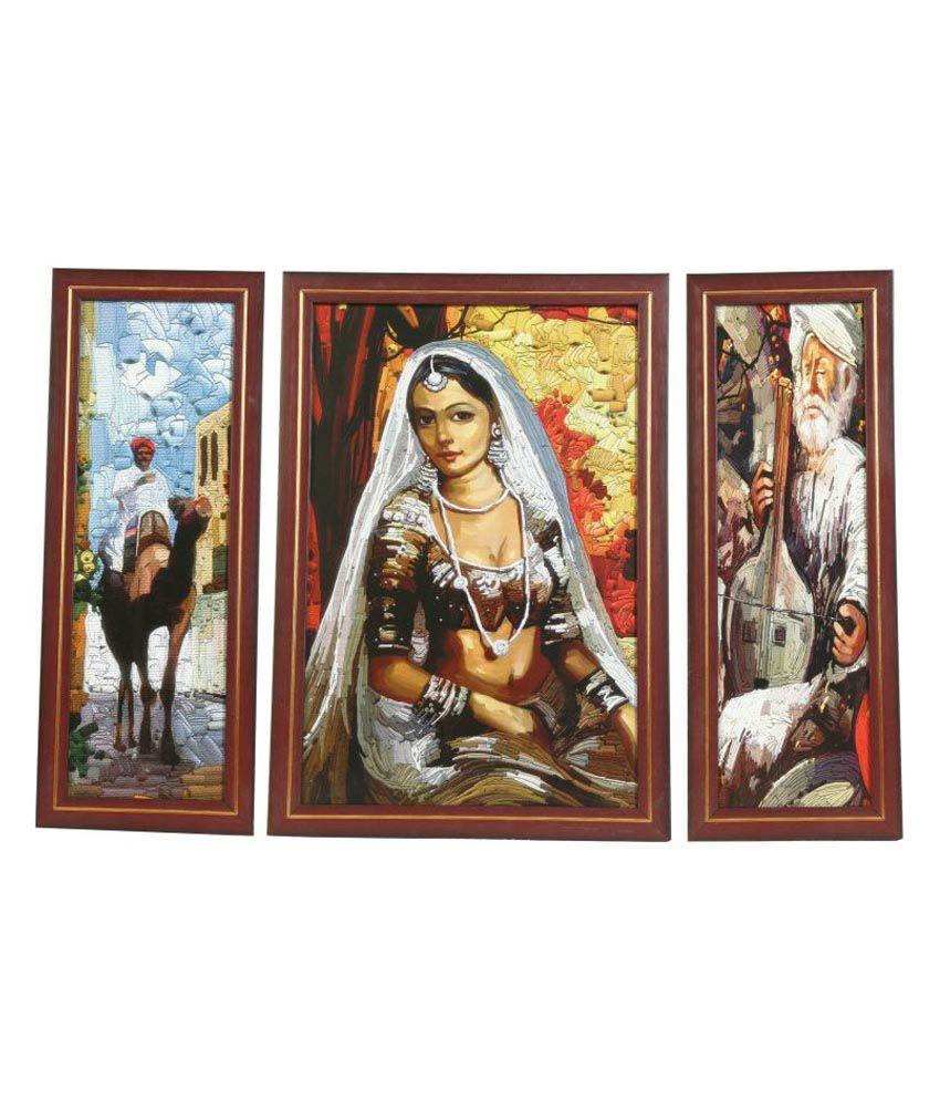 Truce Folk Art Paintings