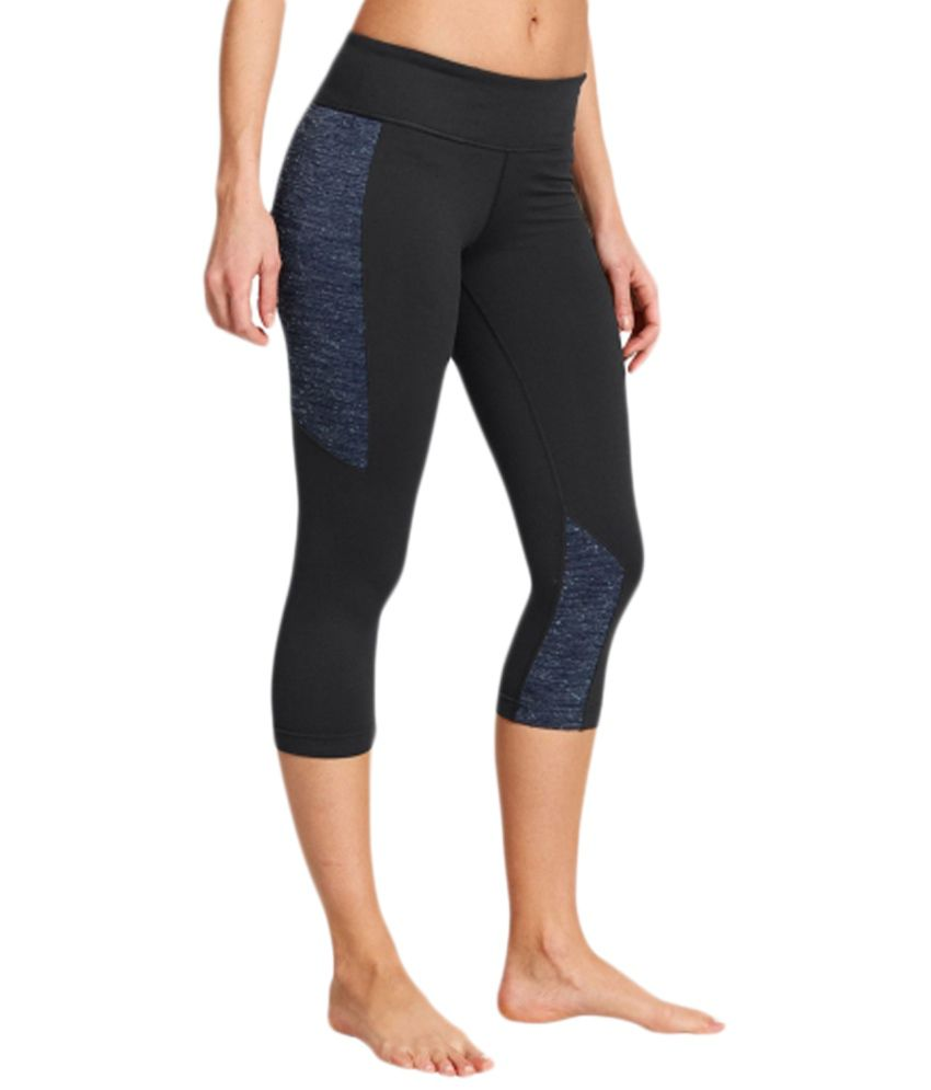 Under Armour Under Armour Black Studiolux Step It Up Yoga Capris