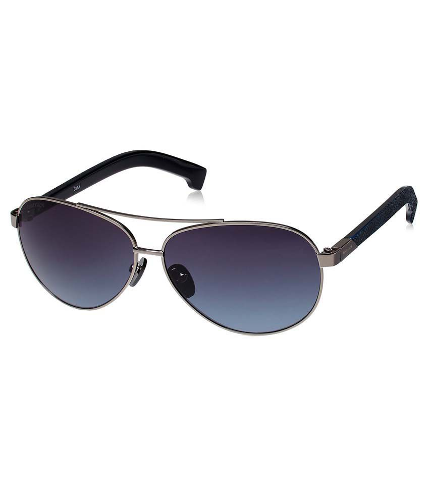 a90d2307192e Fastrack M134bk2 Blue Aviator Sunglasses For Men - Buy Fastrack M134bk2  Blue Aviator Sunglasses For Men Online at Low Price - Snapdeal