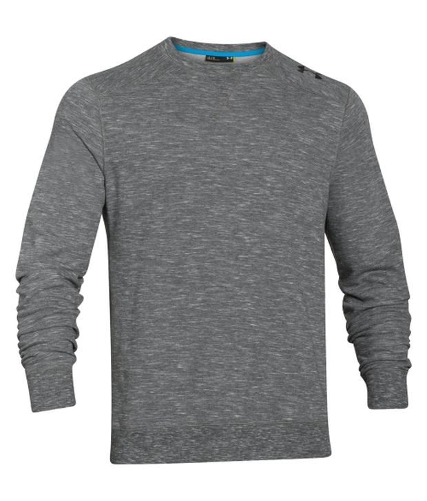 Under Armour Under Armour Grey Mens C1n Signature Crewneck Sweatshirt
