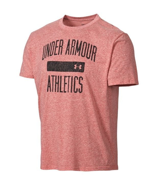 Under Armour Under Armour Pink And Green Mens Collegiate Graphic T-shirt (pack Of 2)