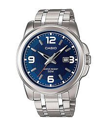 Casio A551 Elegant Blue Dial Watch