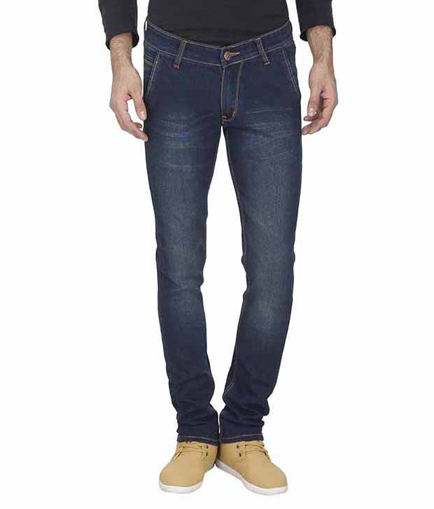 Cazzano Blue Slim Fit Jeans