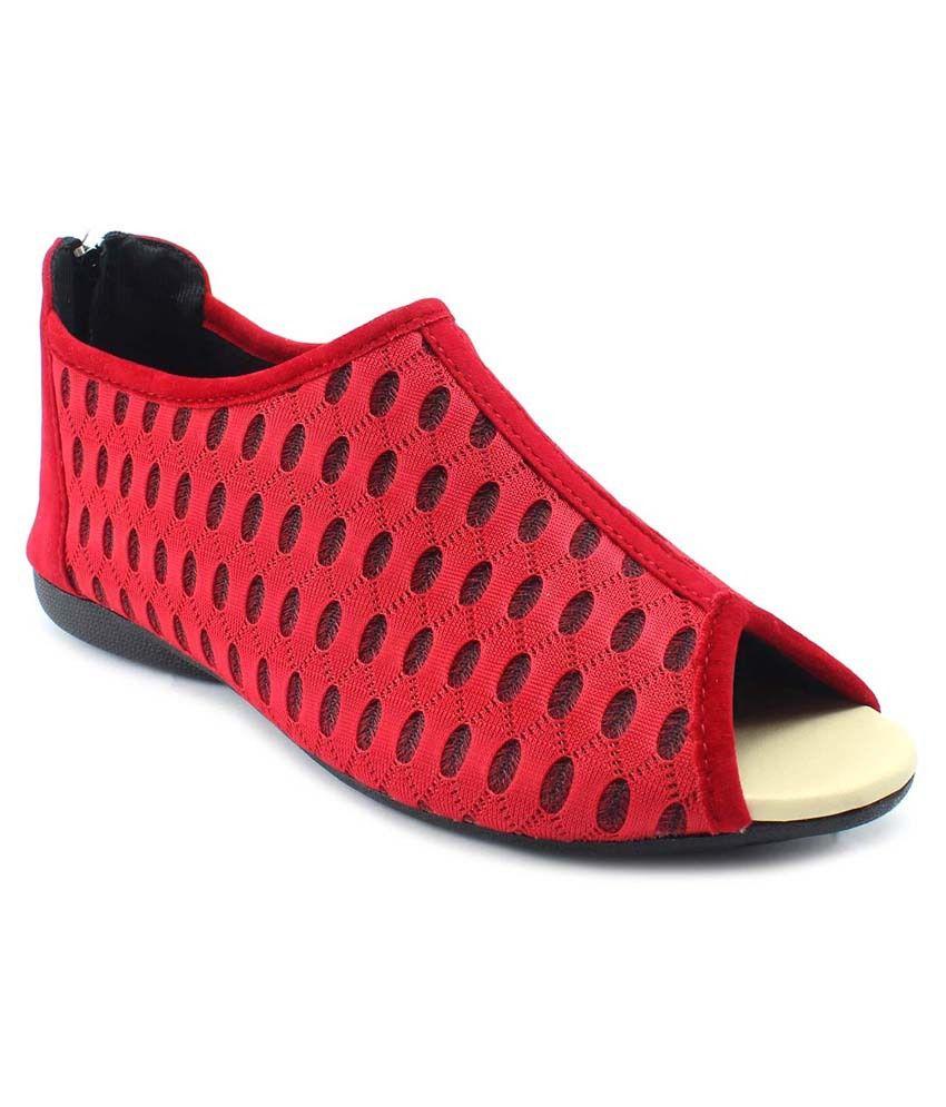 Plutos Red Sandals