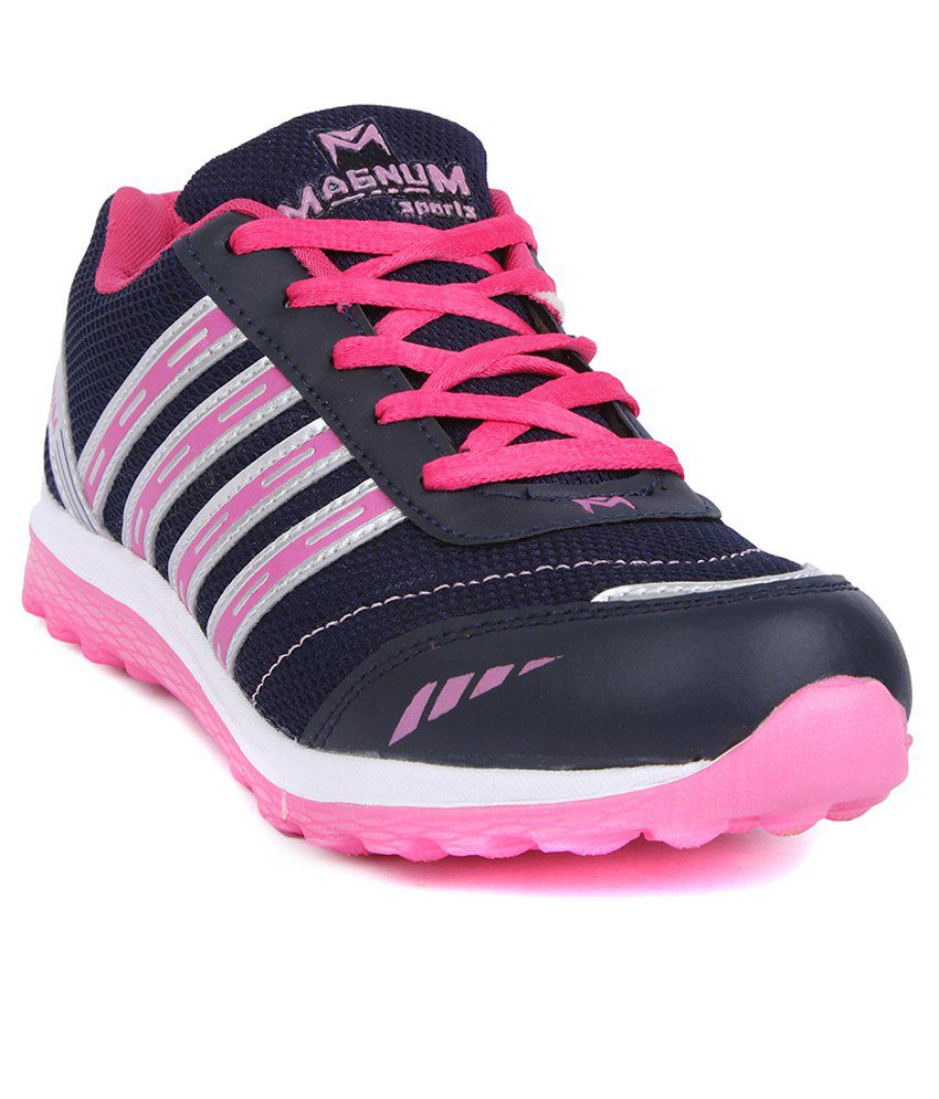 fa814a529 Magnum Black   Pink Sports Shoes Price in India- Buy Magnum Black   Pink  Sports Shoes Online at Snapdeal