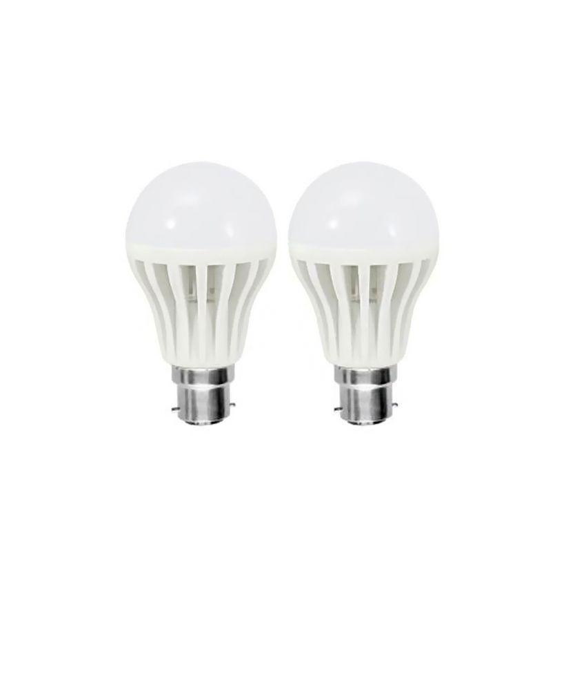 Tijaria 7w White Led Bulbs - Set Of 2