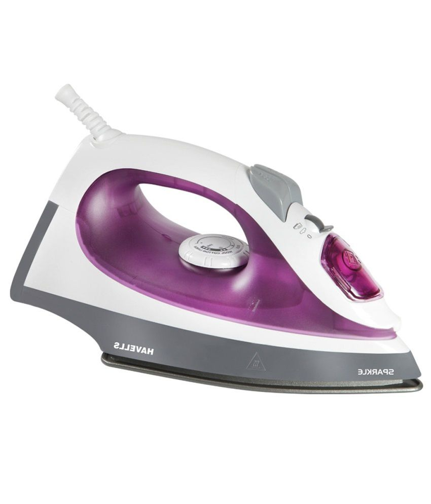 Home purple sparkle -  Havells Steam Iron Sparkle 1250w Steam Iron Purple