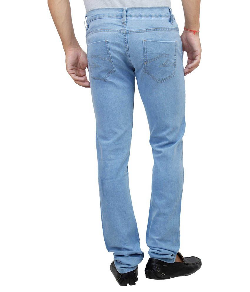 Ansh Fashion Wear Multicolour Regular Fit Jeans Set Of 3