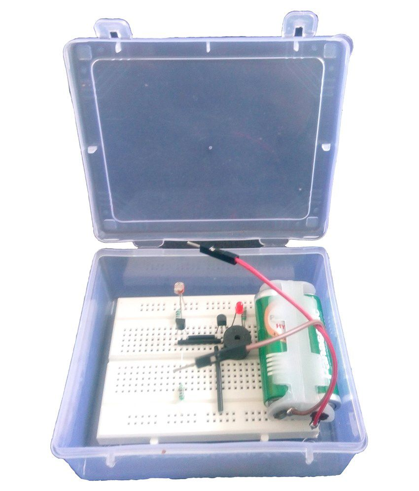 Electronics Mini Project Darkness Sensor - Buy Electronics Mini ...