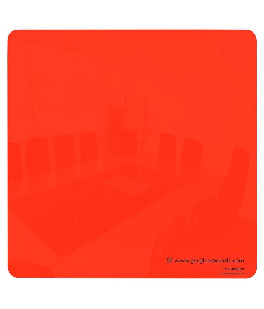 Gsc Glassboards Orange Magnetic Play - Pack Of 2
