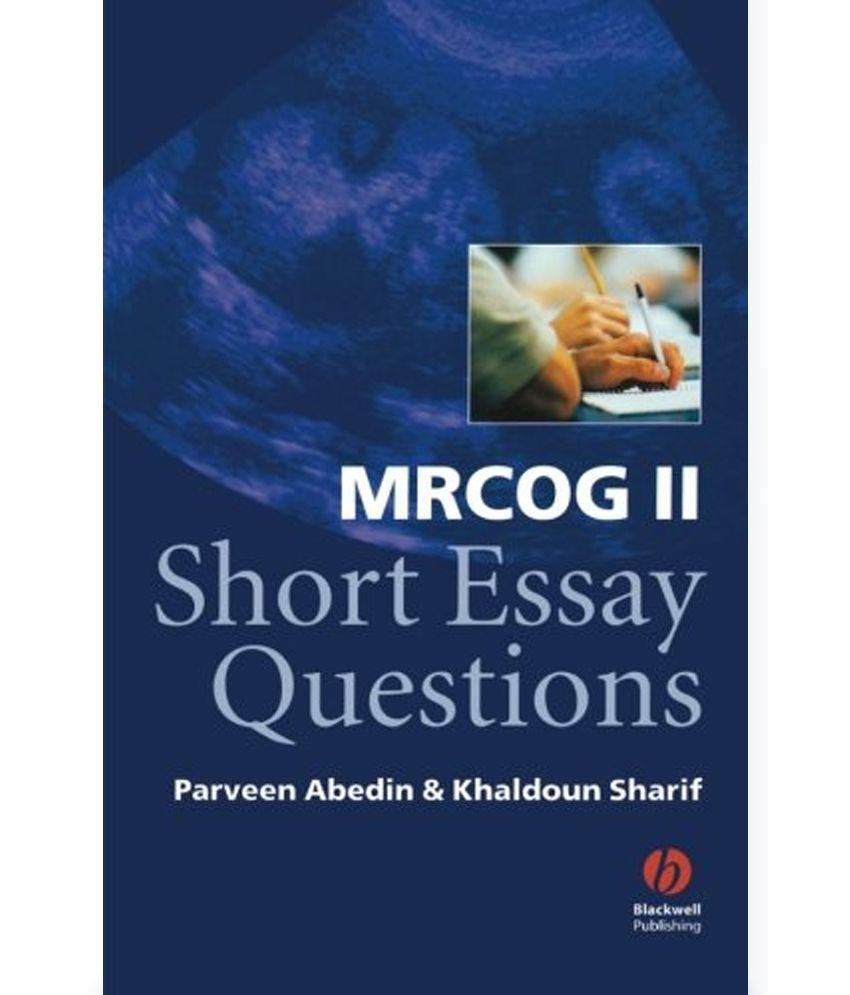 Quick essay question?
