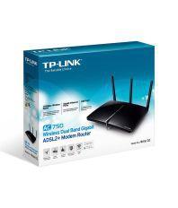 TP-LINK Archer D2 AC750 Wireless Dual Band Gigabit ADSL2+ Modem Router